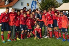 JFG: 3. Eichler U15-Cup mit dem FC Bayern in Stoffen