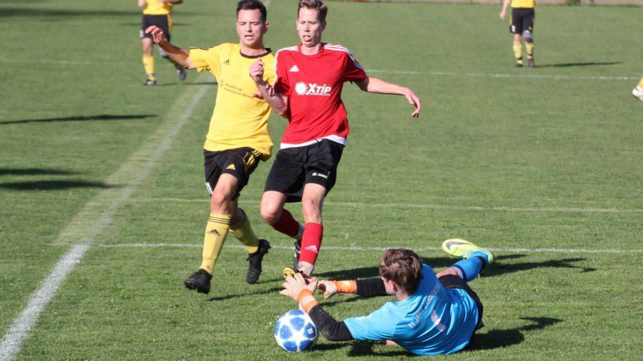Packendes Spiel zwischen FCS und Jahn Landsberg